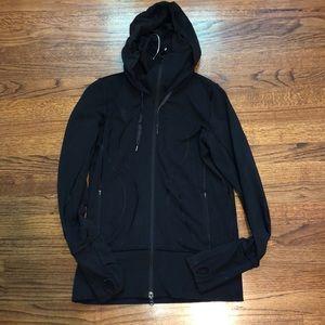 Lululemon lightweight scuba zip up hoodie - size 6
